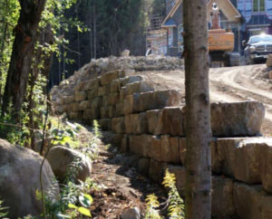 retaining wall, landscaping wall