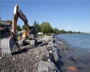 retaining wall, beach restoration